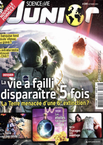 Science et vie junior. 289, Oct. 2013 |