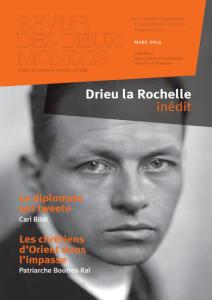Drieu la Rochelle  