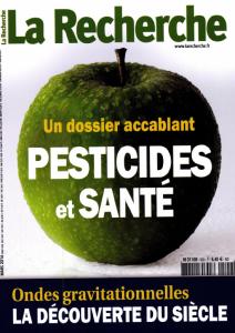 Pesticides et santé : Un dossier accablant | Aurias, Aline