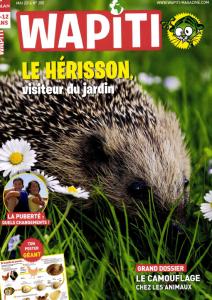Le Hérisson, visiteur du jardin... / Georges Deméautis | Deméautis, Georges