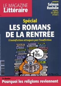 L' Autofiction attaquée par l'exofiction / Marie Fouquet | Fouquet, Marie
