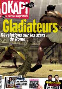 "Zlatanicus. ""C'est moi, la star des gladiateurs !"" / Luc Ihaddadene | Ihaddadène, Luc"