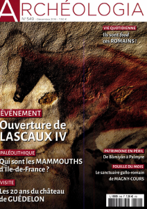 Le Château de Guédelon, 20 ans d'archéologie expérimentale / Lucie Hoornaert | Hoornaert, Lucie (1986-....)