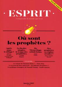 Après la fin des utopies, le temps des prophéties / Camille Riquier | Riquier, Camille (1974-....)